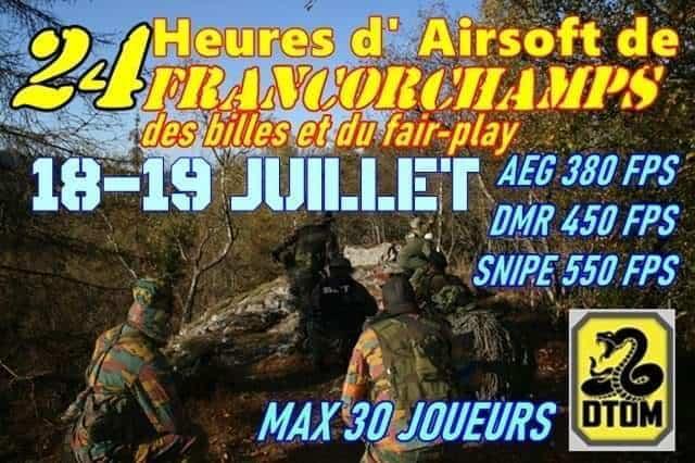 24 heures d'air soft de Francorchamps